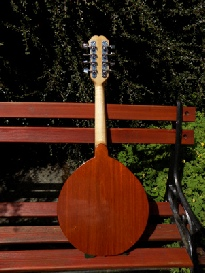 MN002 Army Navy Mandolin Back View